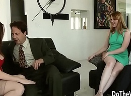 Sexy Swinger Allision Moore Is Fucked by a Long Dicked Guy While Another Couple