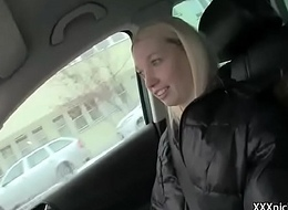 Public Pickup Girl Seduces Tourist For A Good Fuck And Dollars 12
