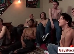 Bukkake Boys -Hardcore Gay And Nasty Blowjobs 04