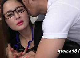 KOREA1818.COM - UPTIGHT Korean Lady in Glasses
