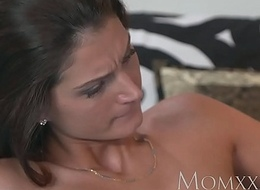 MOM Horny lesbian friends lick and fuck their shaved pussies