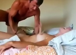 Girl next door is abused by his big cock