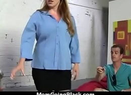 Mom with Big Tits gets Pounded by Black Cock 11