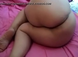 Sleeping Huge Ass Lady, Her Lover Nicely Recording her Video